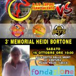 """Progetto Fondazione Decathlon """"Memorial Heidi Bortone"""": appuntamento al """"PalaVentura"""" di Lecce per la terza edizione"""